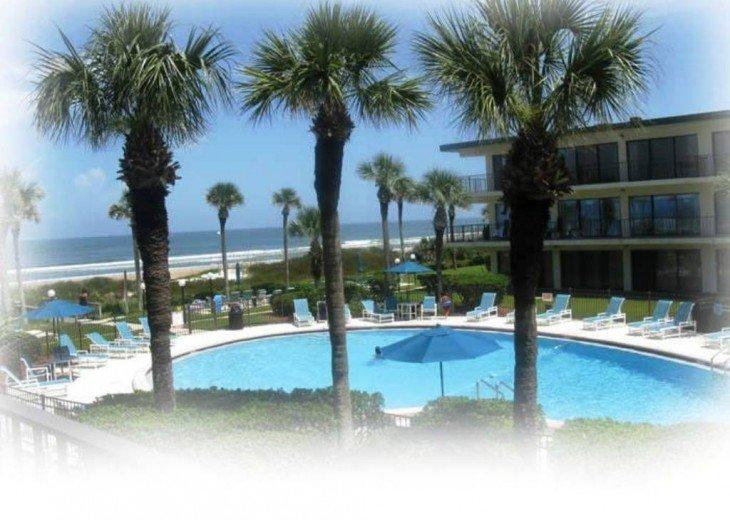 Beachfront Resort,Ground Flr,WiFi, 2br/2b,Sleep 6,Crescent Beach,St Augustine,FL #20