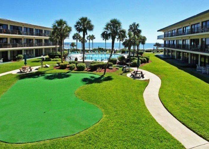 Beachfront Resort,Ground Flr,WiFi, 2br/2b,Sleep 6,Crescent Beach,St Augustine,FL #15