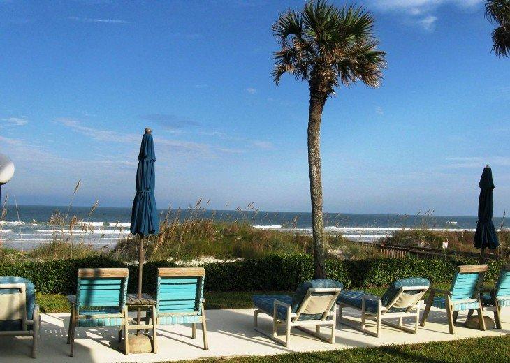 Beachfront Resort,Ground Flr,WiFi, 2br/2b,Sleep 6,Crescent Beach,St Augustine,FL #2