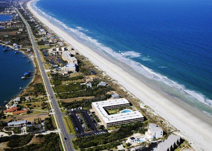Beachfront Resort,Ground Flr,WiFi, 2br/2b,Sleep 6,Crescent Beach,St Augustine,FL #18