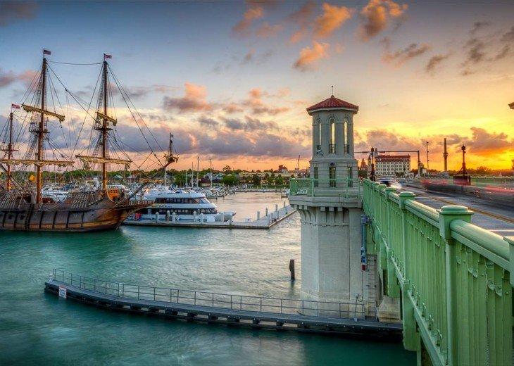 Beachfront Resort,Ground Flr,WiFi, 2br/2b,Sleep 6,Crescent Beach,St Augustine,FL #9