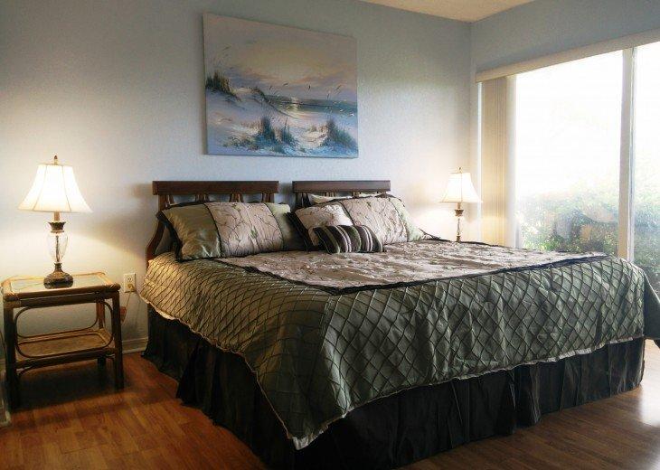 Beachfront Resort,Ground Flr,WiFi, 2br/2b,Sleep 6,Crescent Beach,St Augustine,FL #25