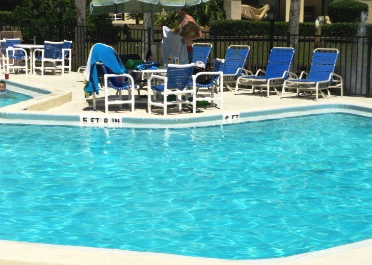 OCEAN VILLAS,3BR,Sleeps 8,2 Pools 1 heated,Near Pier,WiFi,St Augustine Beach,FL #44