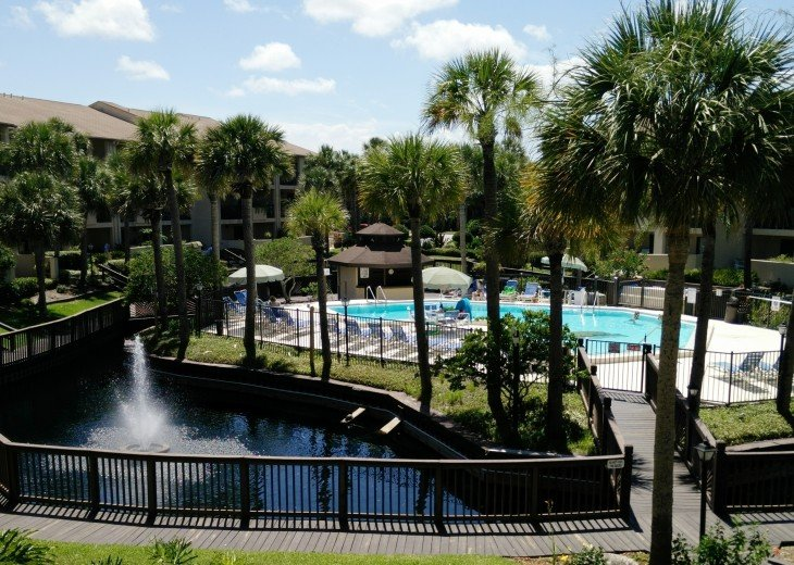 OCEAN VILLAS,3BR,Sleeps 8,2 Pools 1 heated,Near Pier,WiFi,St Augustine Beach,FL #25