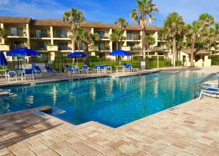 Beachfront Resort,3BR,Sleeps 8,2 Pools,Near Pier,WiFi,St Augustine Beach,FL #52