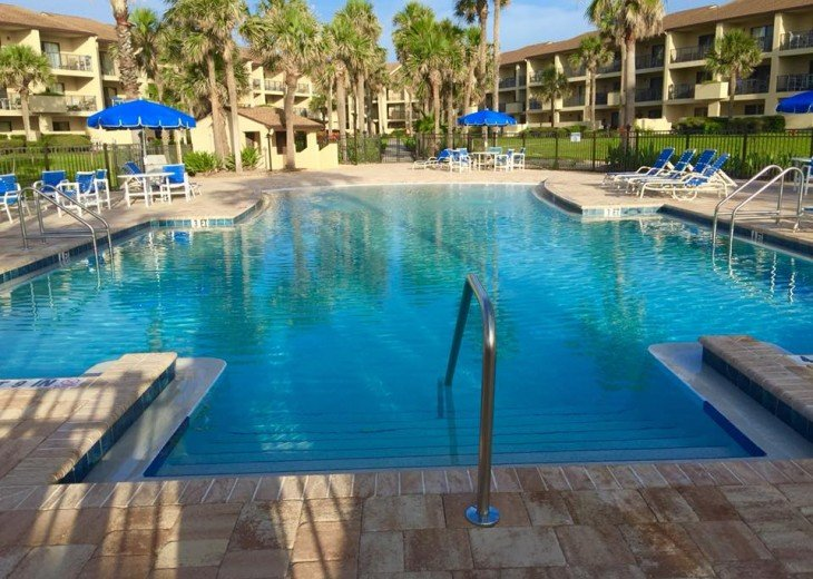 OCEAN VILLAS,3BR,Sleeps 8,2 Pools 1 heated,Near Pier,WiFi,St Augustine Beach,FL #2