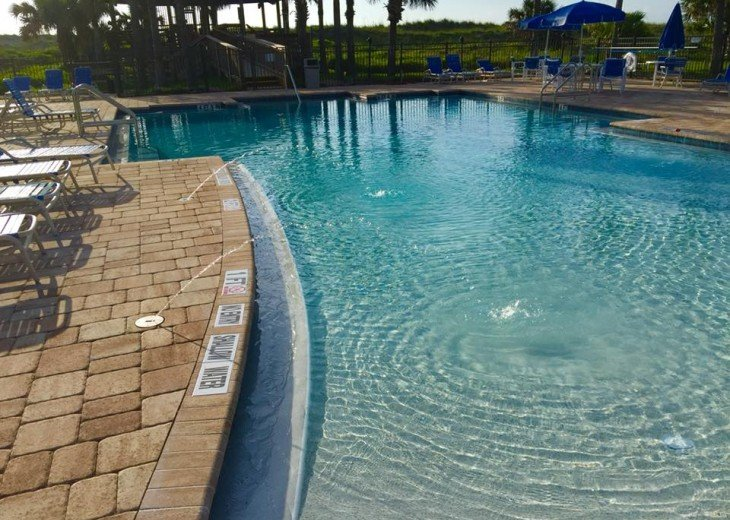 OCEAN VILLAS,3BR,Sleeps 8,2 Pools 1 heated,Near Pier,WiFi,St Augustine Beach,FL #6