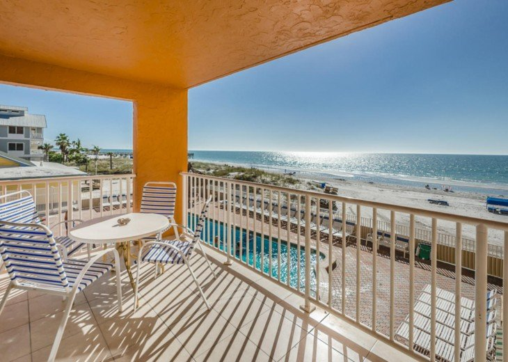 Holiday Villas III: Gulf Front Condo (Indian Shores) #3
