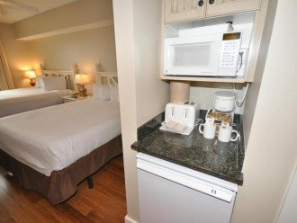 Second bedroom has kitchenette