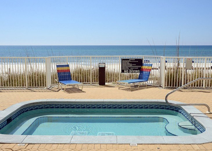 Gulf Front Hot Tub