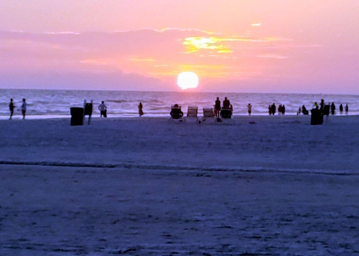 Sunsets on Siesta Key can't be beat