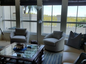 Family Room furnished with Lexington Tommy Bahama furniture.