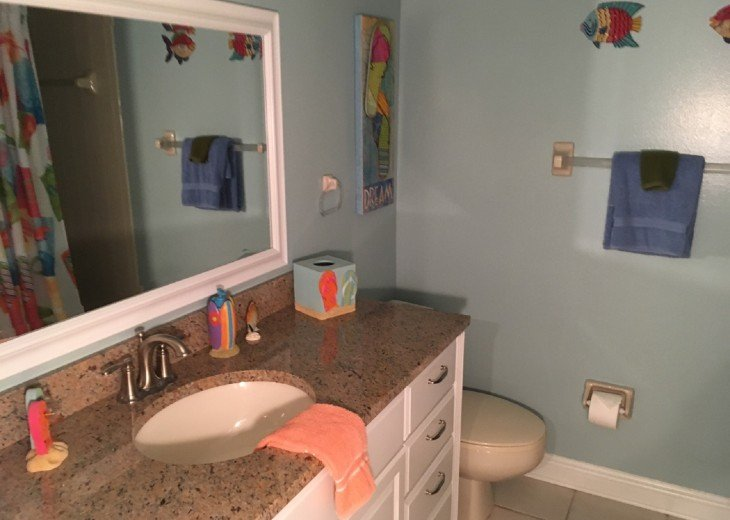 Guest Bathroom With Full Tub and Shower