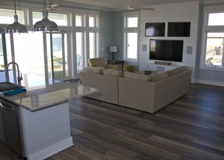New, Gulf Front beach home with open concept and elevator. #24