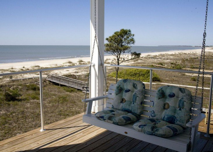 New, Gulf Front beach home with open concept and elevator. #32