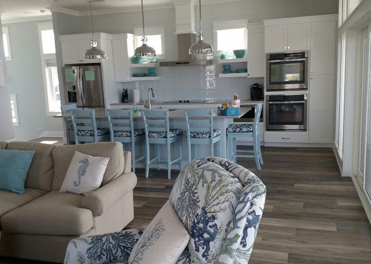New, Gulf Front beach home with open concept and elevator. #12