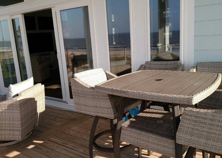 New, Gulf Front beach home with open concept and elevator. #51