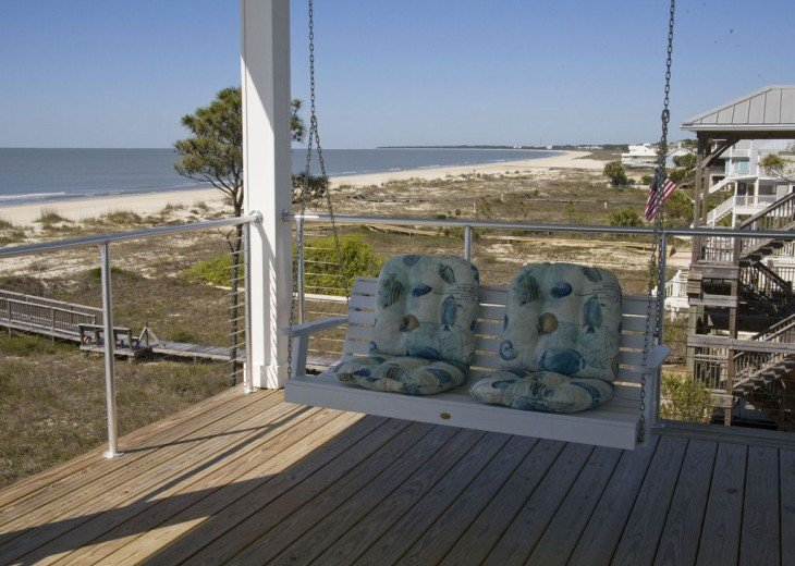 New, Gulf Front beach home with open concept and elevator. #33