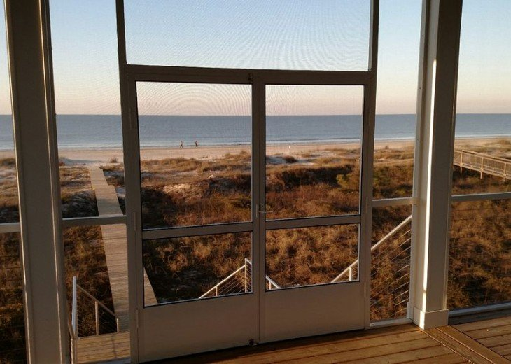 New, Gulf Front beach home with open concept and elevator. #34