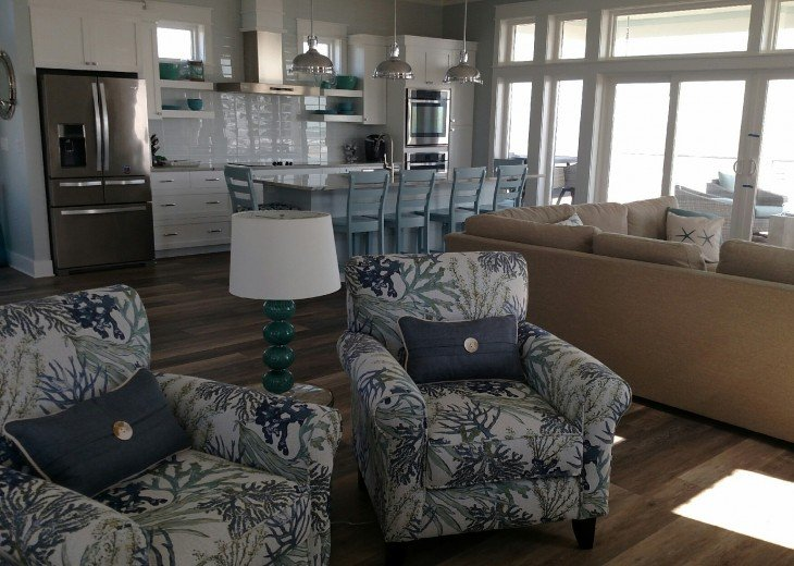 New, Gulf Front beach home with open concept and elevator. #18