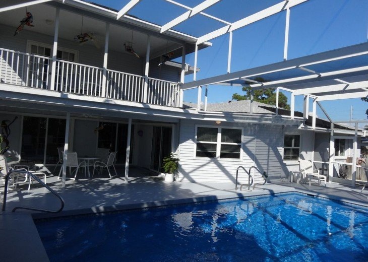 Villa Colleen 4 BR 4Bath, solar heated pool near Siesta Key up to 9 people #5