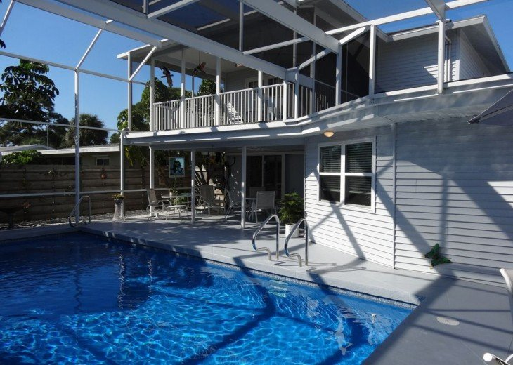 Villa Colleen 4 BR 4Bath, solar heated pool near Siesta Key up to 9 people #3