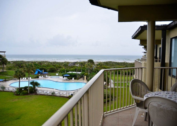 ST AUGUSTINE BEACH OCEANFRONT CONDO RESORT SLPS 2-10 FR $99 Nite! LOCATED@ #2