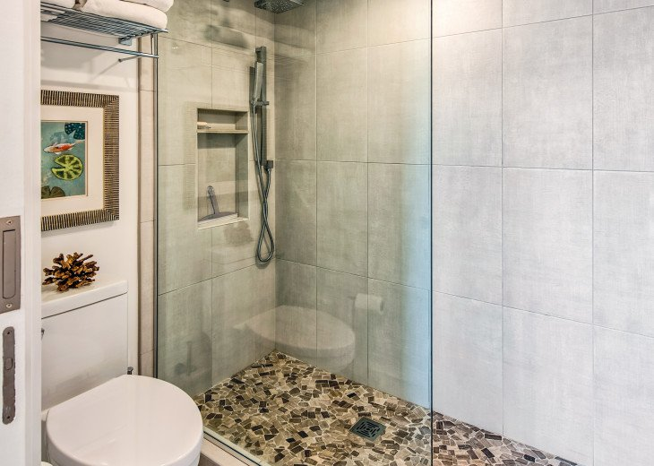Master Bath Shower Area