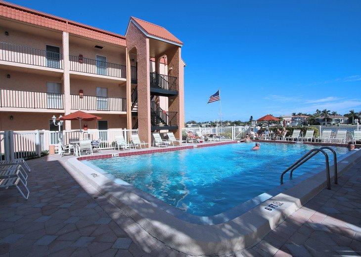 Beautiful heated Pool on the inter coastal!