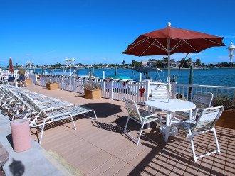 Lounge on the sun decks!