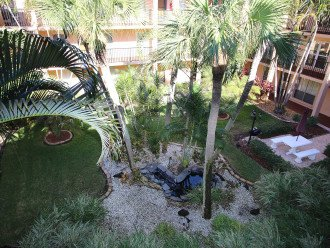 Beautifully landscaped courtyards throughout