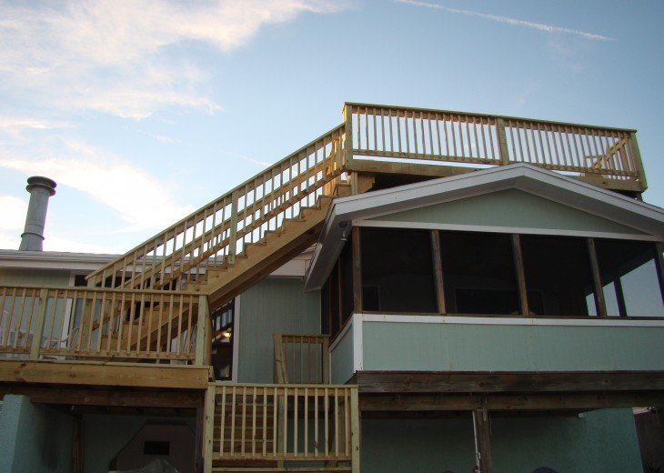 OCEANFRONT RENTAL HOME ~ St. Augustine Beach ~ 4BR-3BA NO SERVICE FEES! #4