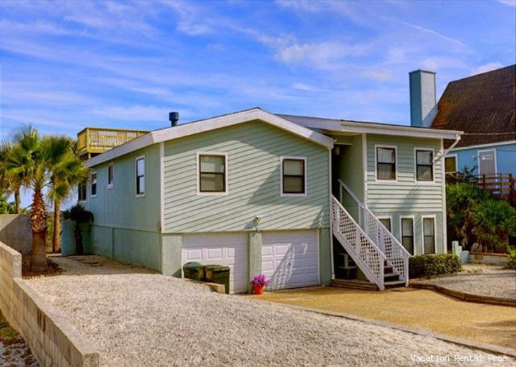 Magnificent 4 Bedroom House Rental In St Augustine Beach Fl Home Interior And Landscaping Ponolsignezvosmurscom