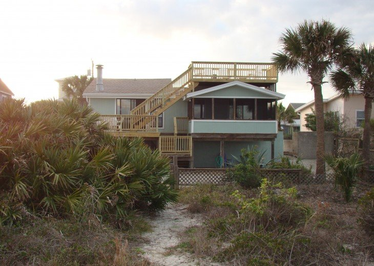 OCEANFRONT RENTAL HOME ~ St. Augustine Beach ~ 4BR-3BA NO SERVICE FEES! #3