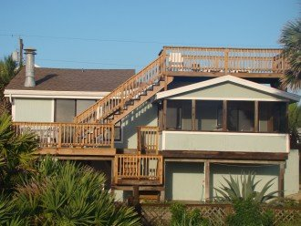 OCEANFRONT RENTAL HOME ~ St. Augustine Beach ~ 4BR-3BA NO SERVICE FEES! #1