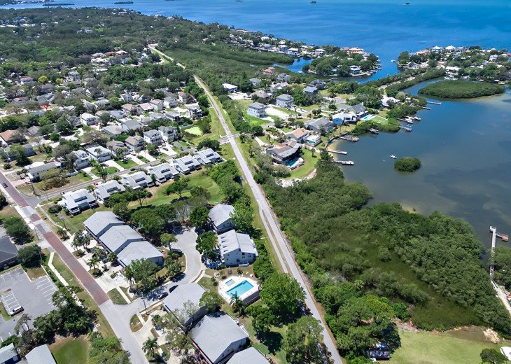 The 28 mile Pinellas Trail is right at your doorstep