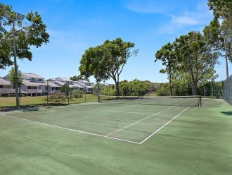 Your own private tennis court for a set or two.