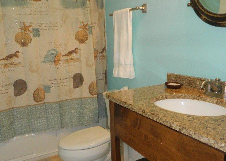 Full Bath Queen Room