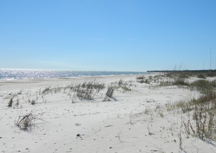 Wide nice beach