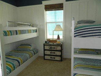 Custom built in bunks