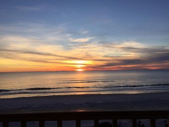 Sunset from McCosh January 2019