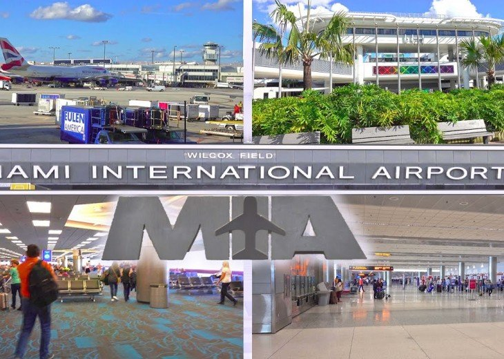Miami International Airport is 20 minutes away!