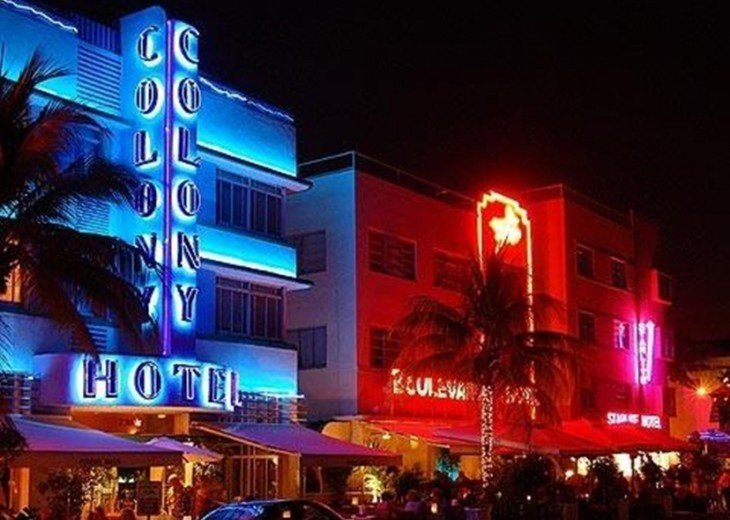Only 10-minute drive to beautiful South Beach and its nightlife.
