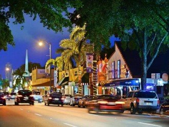 Beautiful Little Havana and its restaurants and bars are 15 minutes away!