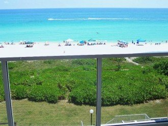 Spectacular oceanfront view from balcony!