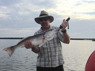 Red Fishing Charters are 2 min away