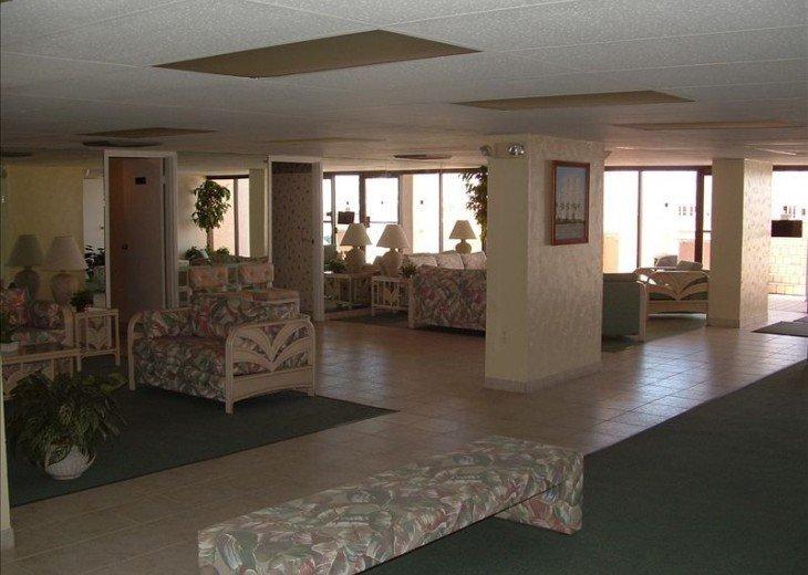 Upper lobby area
