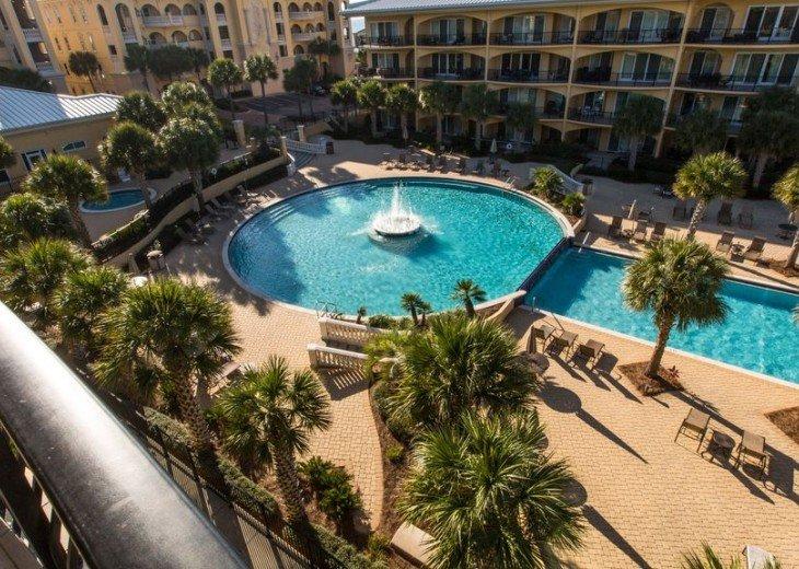 Adagio D405 Premium Pool Front! Private Top Floor Corner! Direct Beach Access!! #6