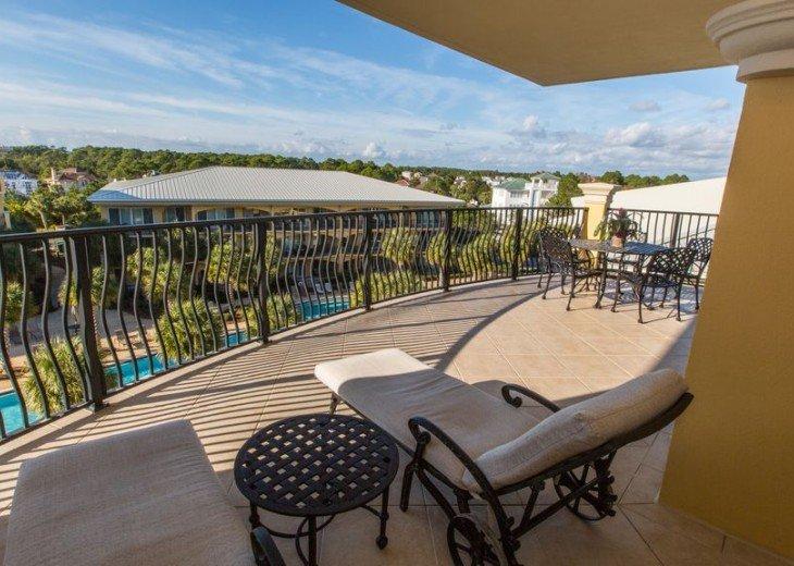 Adagio D405 Premium Pool Front! Private Top Floor Corner! Direct Beach Access!! #18