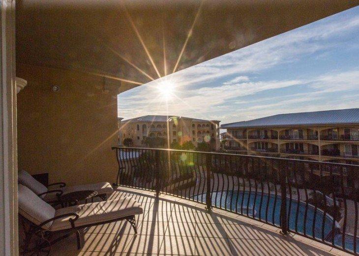 Adagio D405 Premium Pool Front! Private Top Floor Corner! Direct Beach Access!! #4